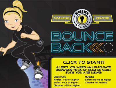 BounceBack Homescreen